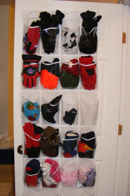 mittens hats and scarves organizer