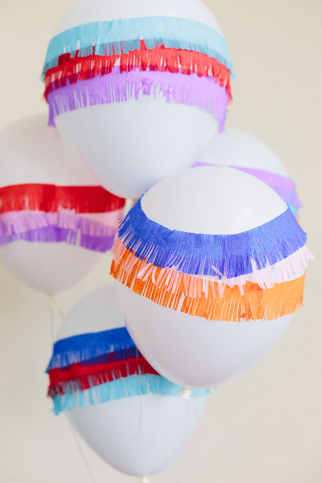 pinata balloon diy