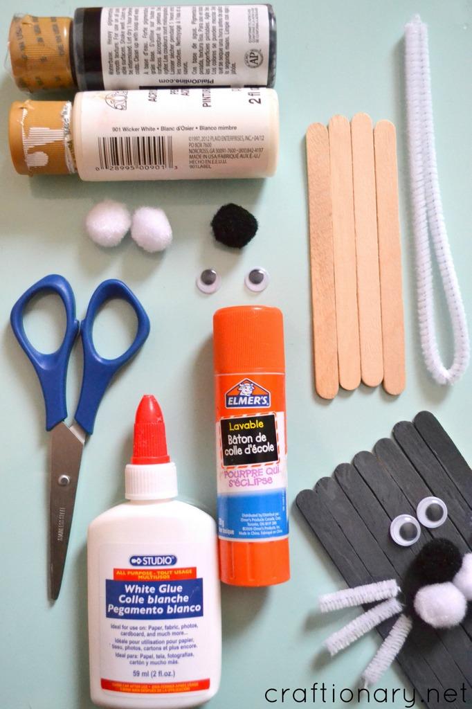 Popsicle sticks seal craft tutorial