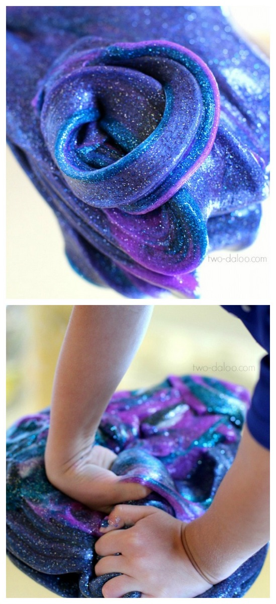 diy-Galaxy-projects-slime-for-kids