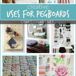 Pegboard Kitchen Samsung Appliance Bundle Creative Uses For Pegboards That Will Excite You - Craftionary
