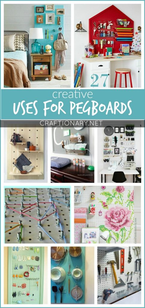 pegboard kitchen small corner table creative uses for pegboards that will excite you - craftionary