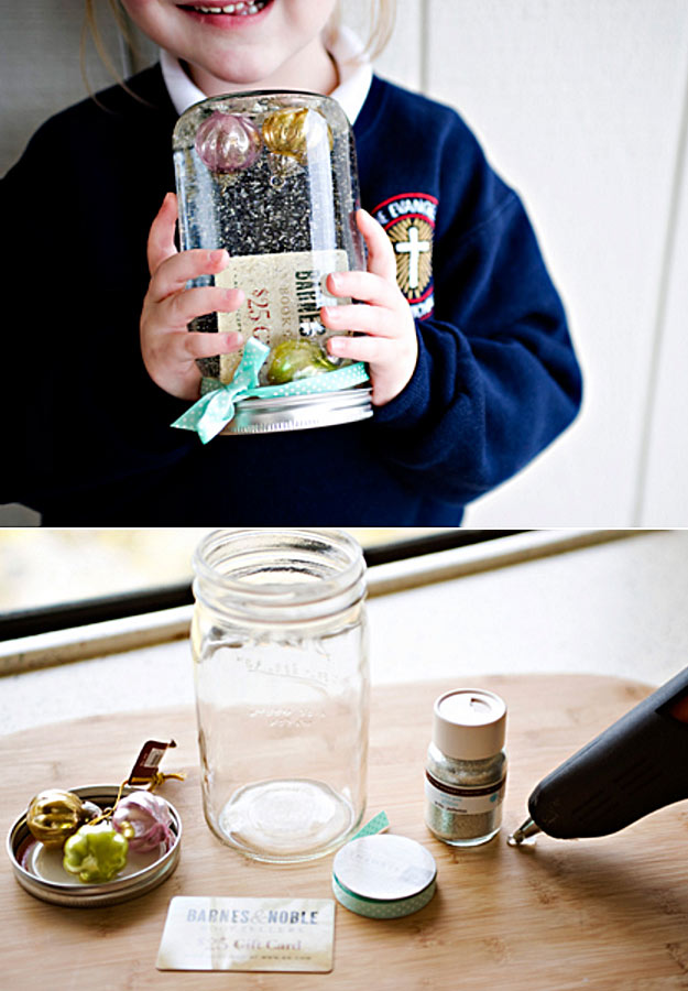 kids gifts in jar