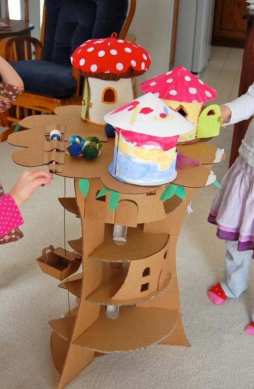 cardboard tree idea