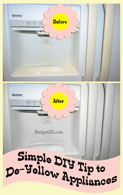DIY tip to de yellow appliances