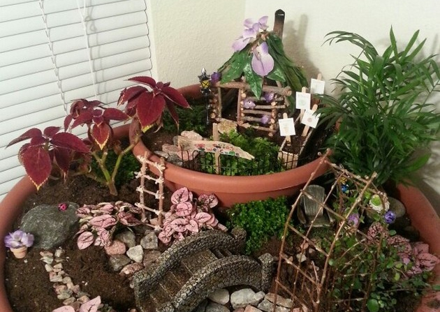 fairy gardens making