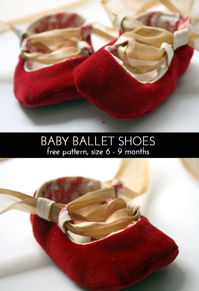 baby ballet shoes