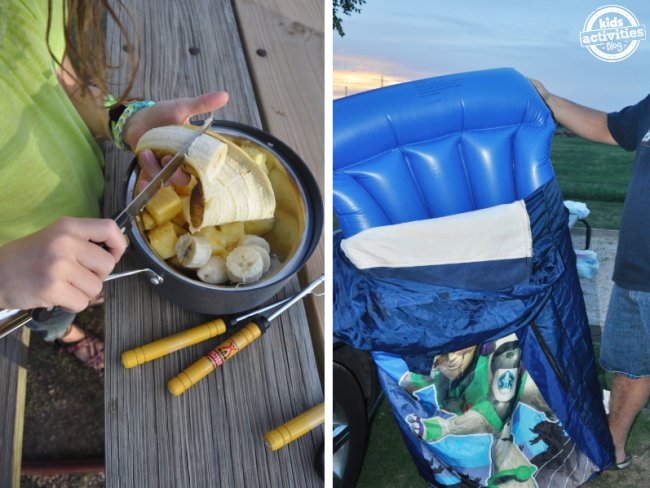 useful camping hacks ideas
