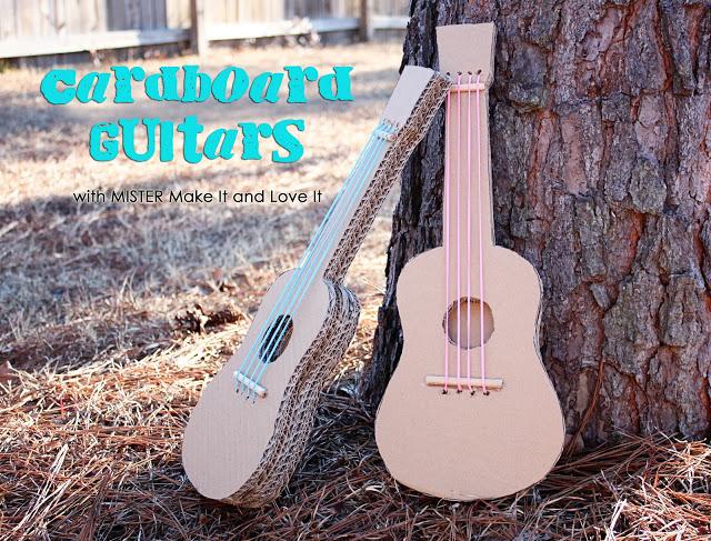 cardboard guitars