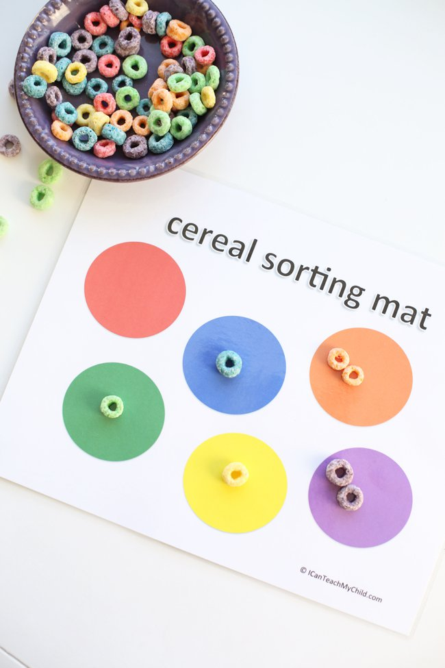 color sorting game for kids
