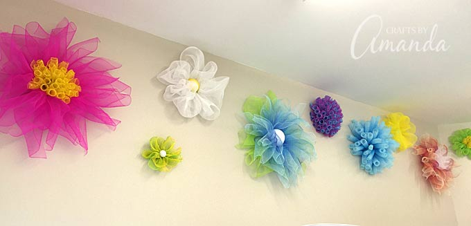 DIY tulle crafts