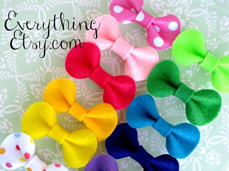 colorful-felt-bows