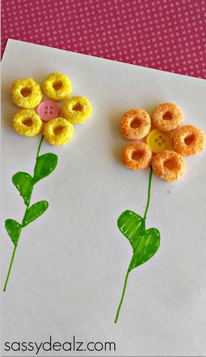 cereal crafts ideas