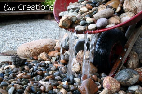 garden fountain making