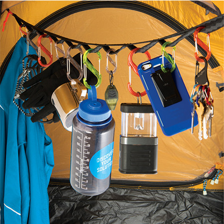 Gear line summer camping essentials