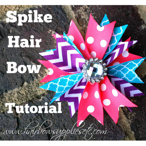 Spike-hair-bow-tutorial
