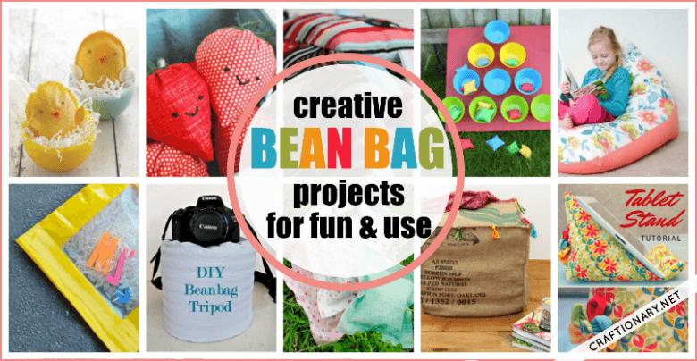 Homemade bean bag crafts