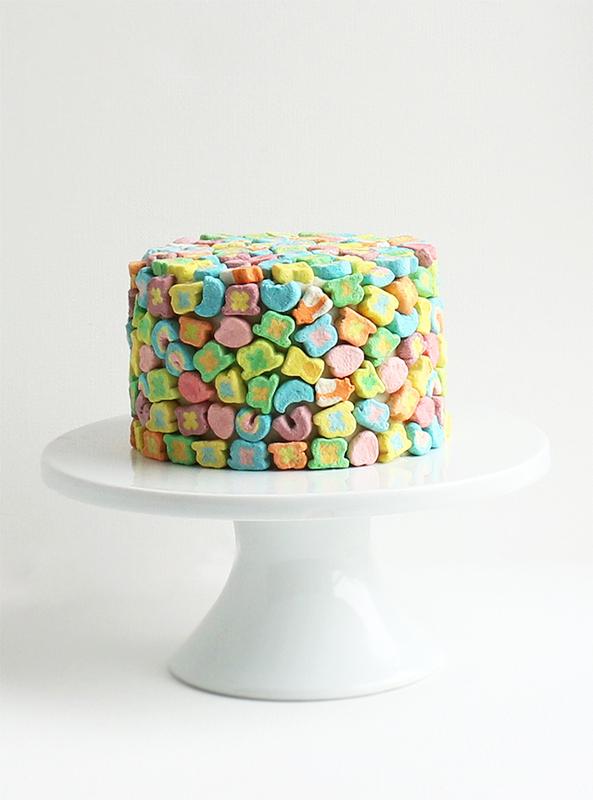 Lucky charm cake