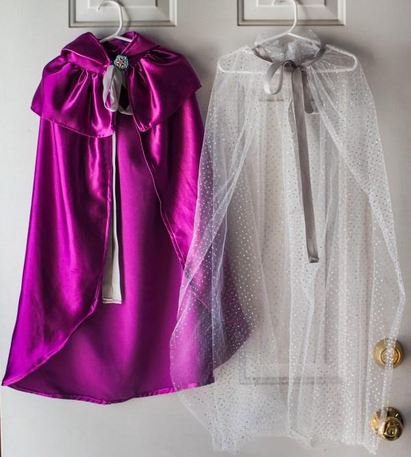 Tutu princess cape