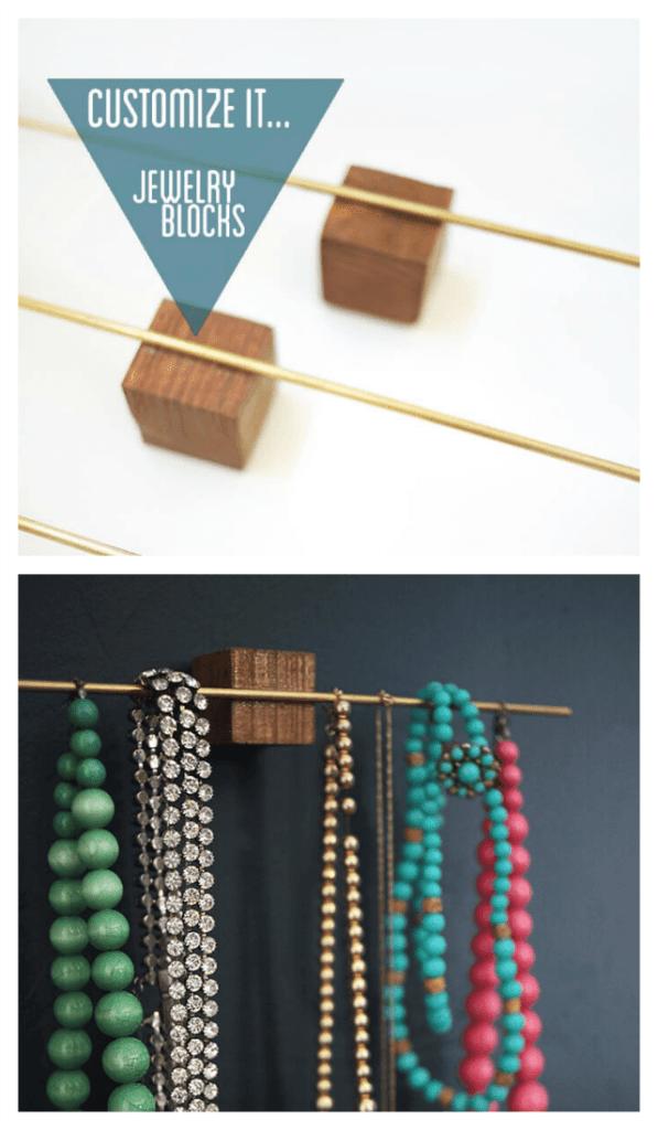 Customize it jewelry blocks