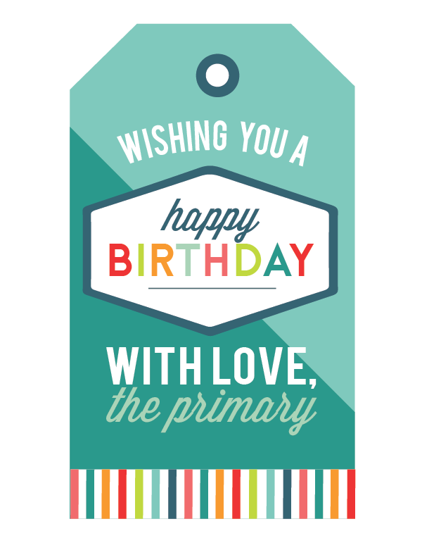 It's just an image of Birthday Tag Printable in name