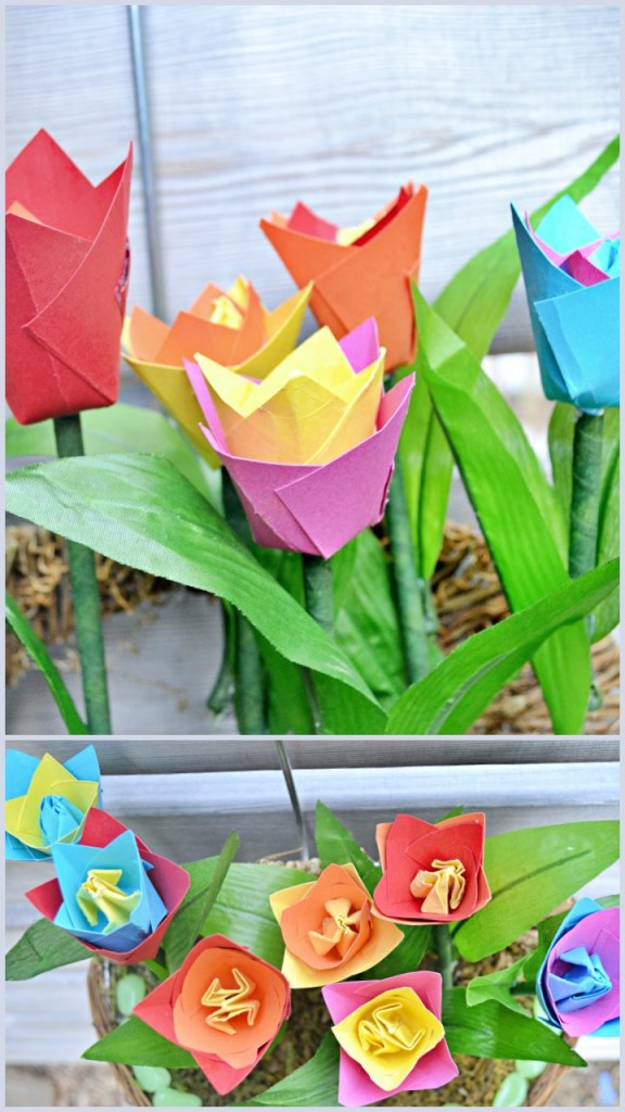 decorate-with-tulip-flowers-wreath
