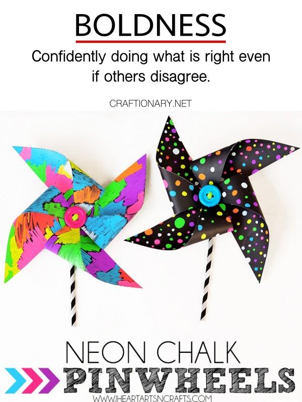 boldness-neon-chalk-pinwheels-craftionary