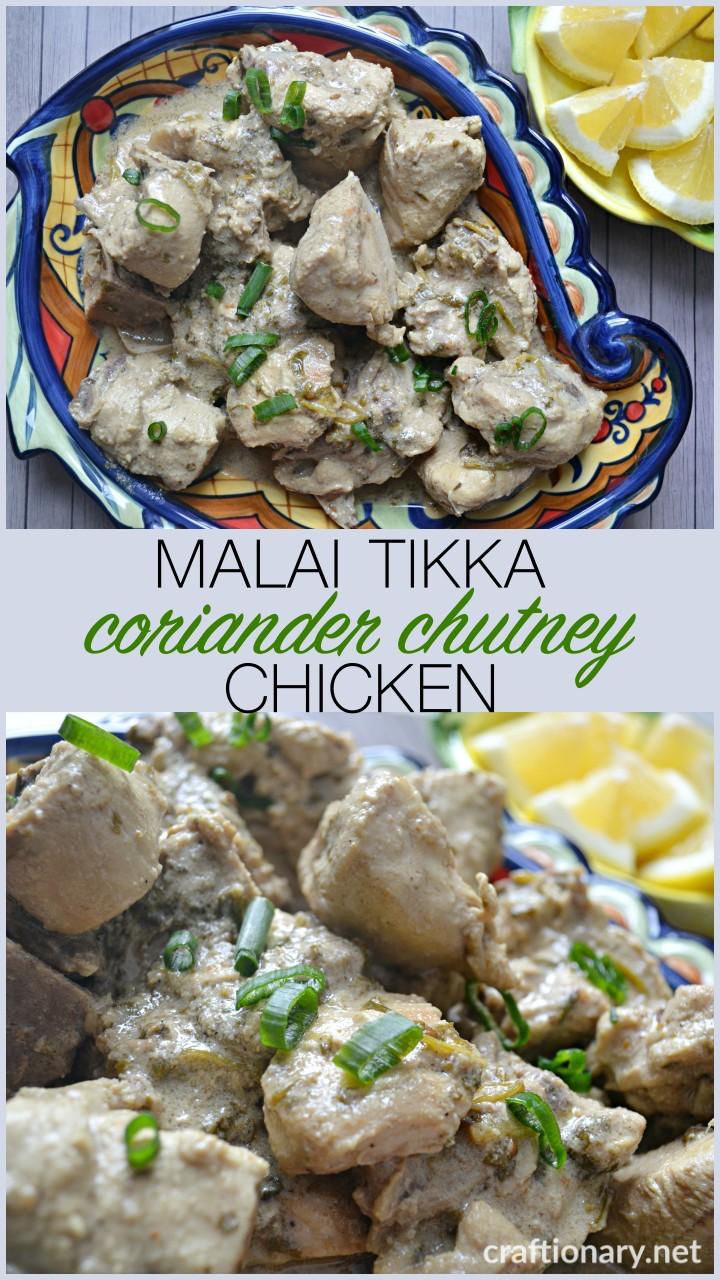 chicken-recipe-indian-pakistani-MALAI-TIKKA-CHUTNEY-coriander