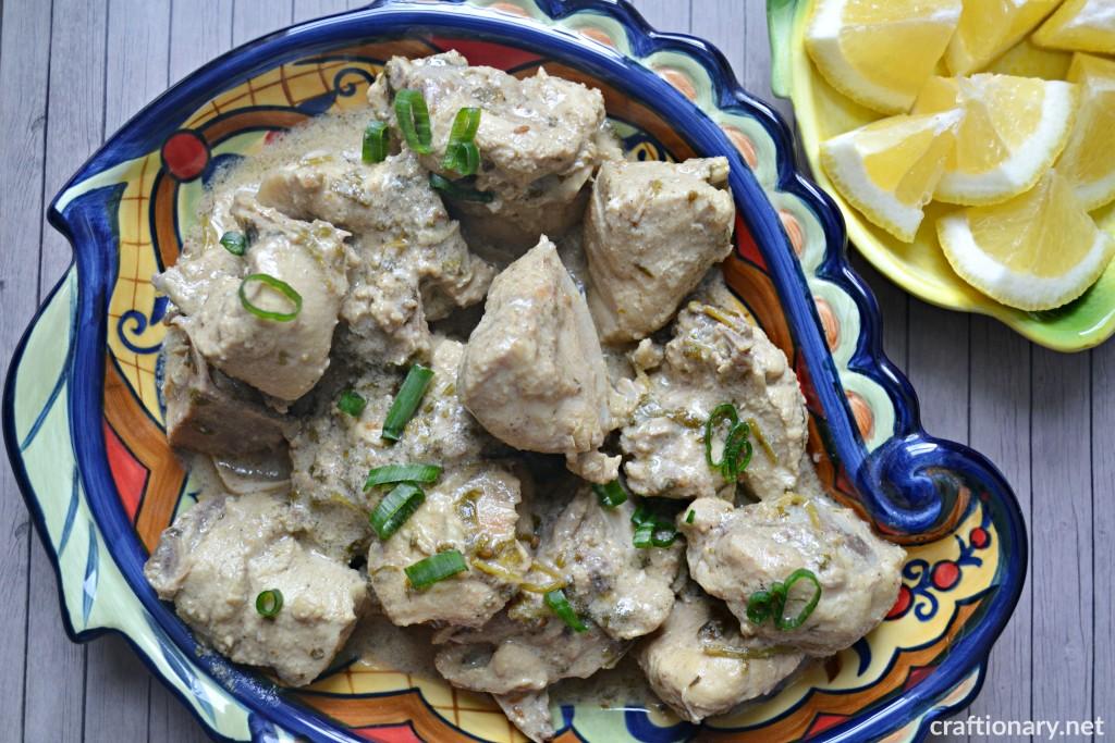easy-chicken-recipe-Malai-tikka-coriander-chutney