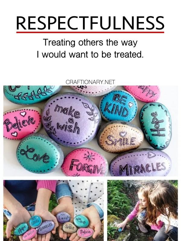 respectfulness-kids-craft-word-rocks-character-trait-crafts-activities