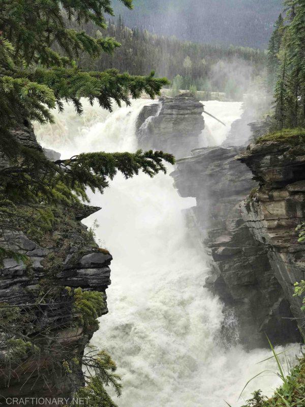 athabasca-falls-columbia-icefield-falls