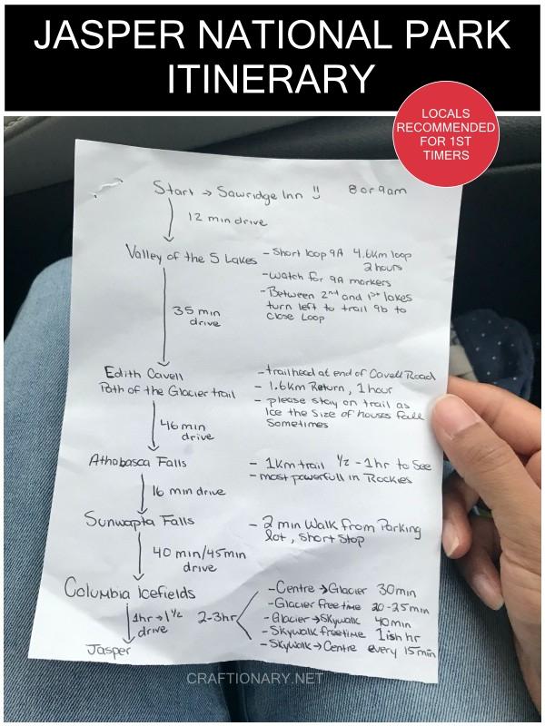 jasper-road-trip-itinerary
