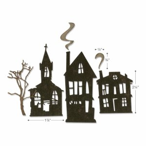 Sizzix Thinlits Die Set 5pk – Ghost Town