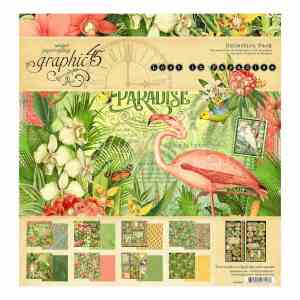 Graphic45 – Lost in Paradise 12×12 Collection Pack