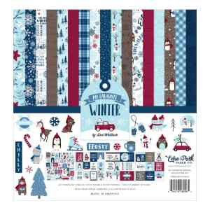 Echo Park – My Favorite Winter Collection Kit 12×12