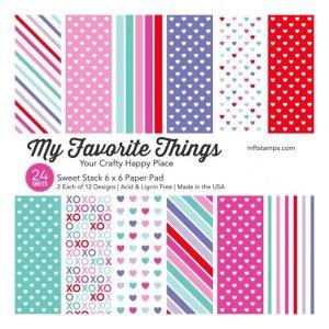 My Favorite Things – Sweet Stack 6×6 Paper Pad
