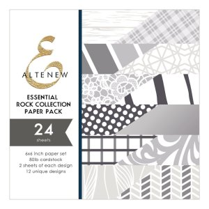 Altenew – Essential Rock Collection 6×6 Paper Pack