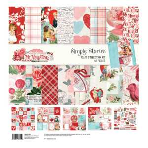 Simple Stories – My Valentine Collection Kit 12×12