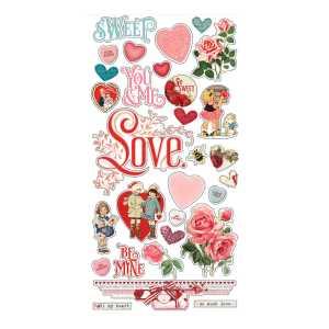 Simple Stories – My Valentine 6×12 Chipboard