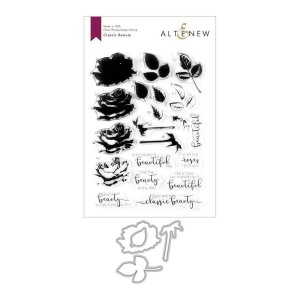 Altenew – Classic Beauty Stamp & Die Bundle