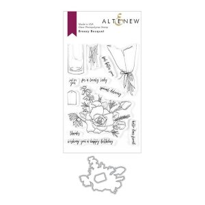 Altenew – Breezy Bouquet Stamp & Die Bundle
