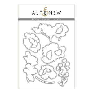 Altenew – Poppy Garden Die Set