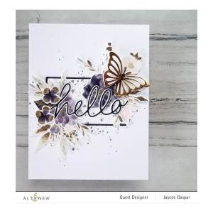 Altenew – Handwritten Hello Die Set