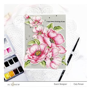 Altenew – Poppy Garden Stamp Set
