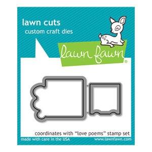 Fustella Lawn Fawn – Love Poems
