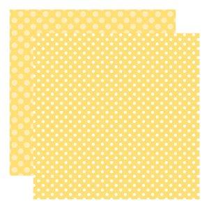 Echo Park Dots & Stripes – Banana Cream Dot
