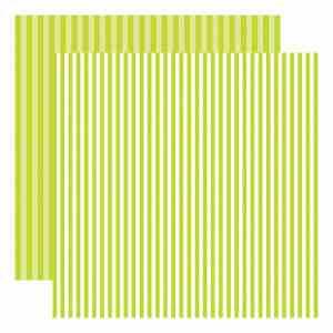 Echo Park Dots & Stripes – Key Lime Stripe
