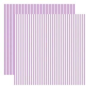 Echo Park Dots & Stripes – Huckleberry Stripe
