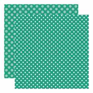 Echo Park Dots & Stripes – Sea Turtle Dot