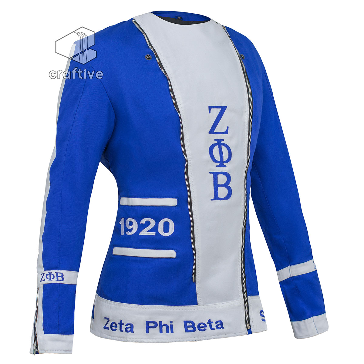 Zeta Phi Beta Crossing Jackets